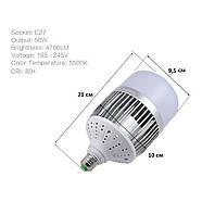 Лампа для постоянного света Visico FB-50 LED (50W), фото 2