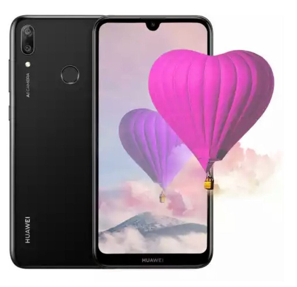 Смартфон HUAWEI Y7 2019 3/32GB Black (51093HES)