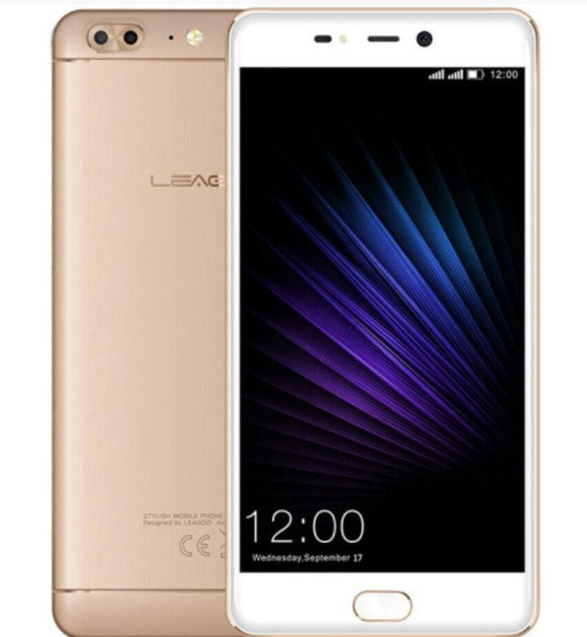 Смартфон Leagoo T5 4/64GB Gold