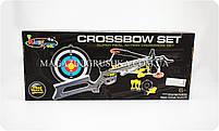 Арбалет детский на присосках «Crossbow set» (с мишенью) 35881S, фото 2