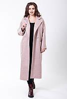Пальто 2-456 Нежно розовый
