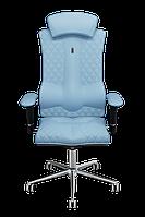 Эргономичное кресло KULIK SYSTEM ELEGANCE Светло-синее (1001)