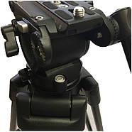 Профессиональный видеоштатив Nest NT-270A, фото 4