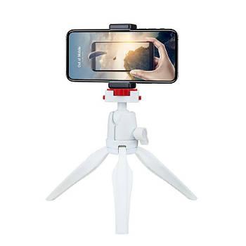 Штатив для смартфона с держателем Nest Alpha 22 White