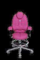 Детское эргономичное кресло KULIK SYSTEM TRIO Розовое (1405)