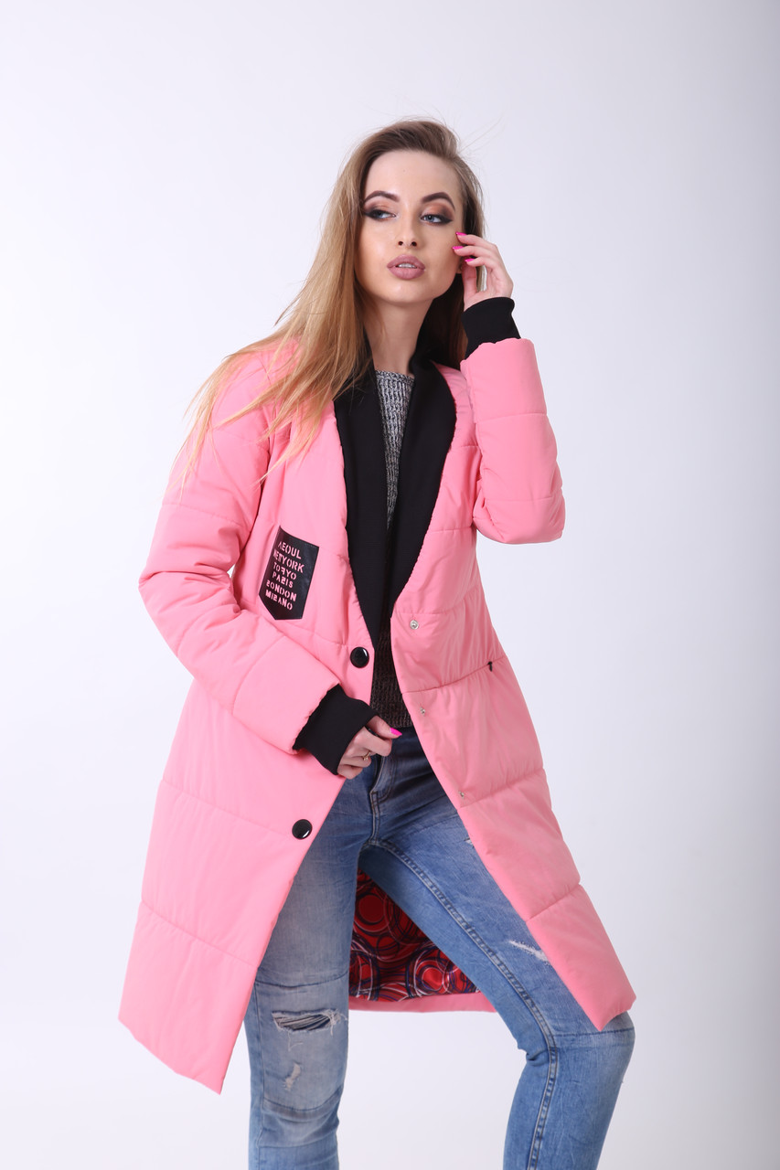 Бомбер 4-060 Нежно розовый