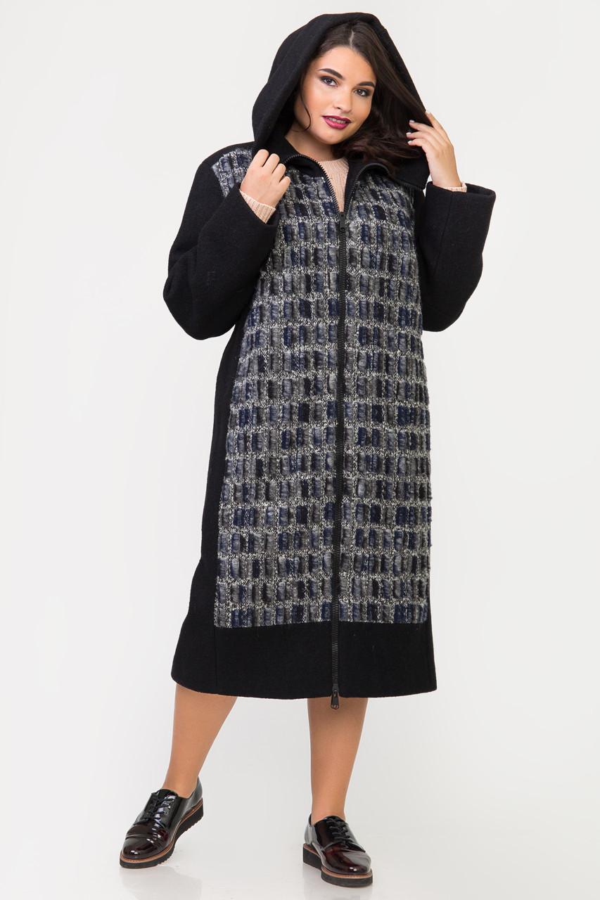 Пальто S-2126 Черный