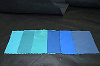 Кожа одежная голубых оттенков