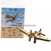 Деревянный конструктор Wood Trick Вудик самолет корсар, 20 деталей. Техника сборки - 3d пазл, фото 1