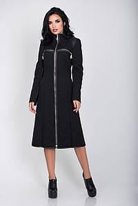 Пальто S-2142 Черный