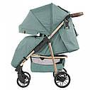 Детская прогулочная коляска темно-серая CARRELLO Echo CRL-8508/1 Emerald Green c дождевиком, фото 2