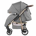 Детская прогулочная коляска серая CARRELLO Echo CRL-8508/1 Rhino Gray c дождевиком, фото 2