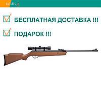 Пневматическая винтовка Crosman Vantage NP (30021) c ОП 4×32 дерево газовая пружина перелом ствола 305 м/с, фото 1