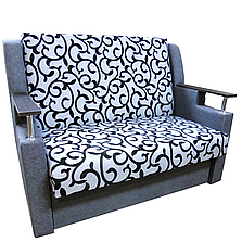 Диван Марта (Вензель серый диван - кровать). Диван с нишей для белья, фото 2