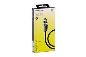 Кабель магнитный iPhone-USB BOROFONE BU1 (MD-1537)