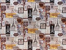 Диван - ліжко Березня (Принт шоколад). Диван з нішею для білизни, фото 2