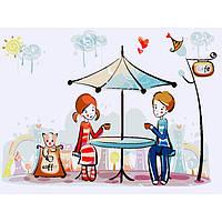 Картины по номерам Первое свидание (КНО2626)  30х40см