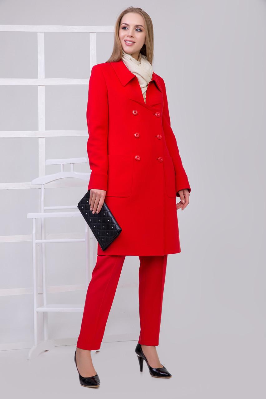 Пальто S-2149 Красный
