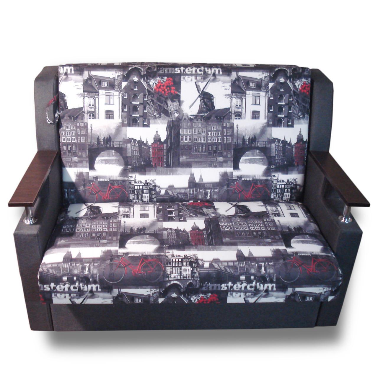 Диван кровать Марта (Амстердам) 140 Диван с нишей для белья