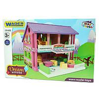 Большой домик фирмы Wader - Домик для кукол, фото 2