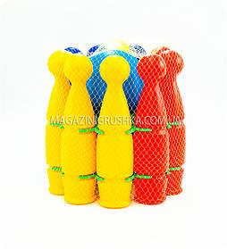Боулинг для детей (9 кеглей, шар)