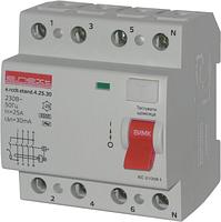 Выключатель дифференциального тока E.next  4Р 25А 30mA