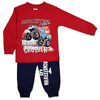 Костюм для мальчика 62-86 (6-18мис.) Арт.2505, кофта + брюки, джип