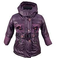 """Детская зимняя куртка для девочки """"Millan"""" 701 92-104 см"""