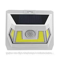 LED светильник на солнечной батарее VARGO 8W c датчиком