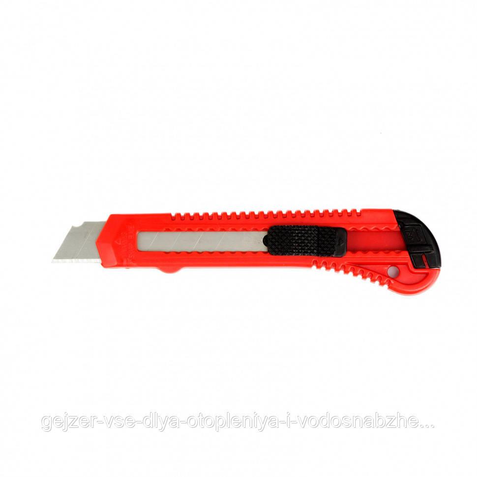 Нож пластиковый Matrix со сменным лезвием 18мм