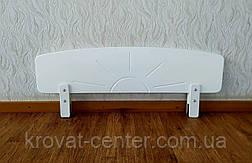 """Белый защитный бортик для детской кровати """"Солнышко"""", фото 2"""