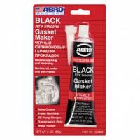Герметик силиконовый черный Abro 85г