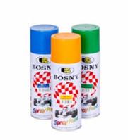 Краска-аэрозоль Bosny №4 черная матовая 0,4л