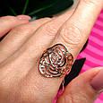 Золотое кольцо без камней - Женское кольцо из золота, фото 5