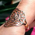 Золотое кольцо без камней - Женское кольцо из золота, фото 4