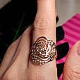 Золотое кольцо без камней - Женское кольцо из золота, фото 2