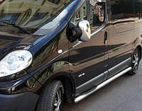 Хром накладки на зеркала Renault Trafic