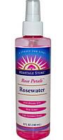 Трояндова вода,Розовая вода,Heritage Products, 240мл
