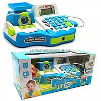 Детский кассовый аппарат (свет, звук, продукты, деньги), 30х18х16 см (35535A), фото 1