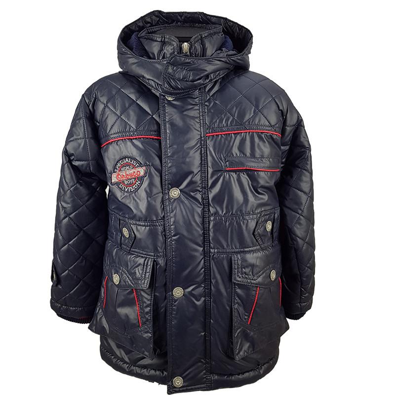 """Детская зимняя куртка для мальчика """"Onbuco"""" 110-116-128 см"""