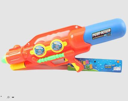 Водный пистолет 2823-28 (24шт/2) с насосом, в пакете 67*27см