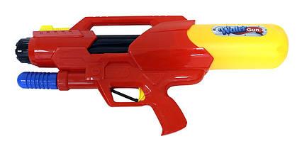 Водный пистолет 2823-33 (36шт/2) с насосом, в пакете 53*26*11см