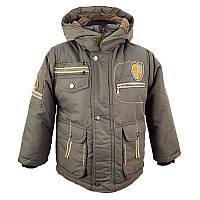 """Детская зимняя куртка для мальчика """"Nursoy"""" (1 - 3 - 4 года)"""