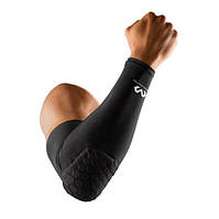 Налокотник защитный баскетбольный McDavid Hex Elbow Pads6500 1шт. р-р XS-L, черный (6500), фото 1