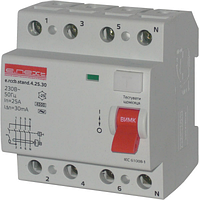 Выключатель дифференциального тока E.next  4Р 40А 30mA