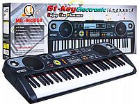 Детский пианино синтезатор MQ 860 USB, фото 1