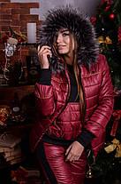 Женский тёплый лыжный костюм тройка с 48 по 82 размер, фото 2