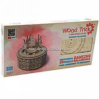 Деревянный конструктор Wood Trick Танцующие балерины, 48 деталей.Техника сборки - 3d пазл, фото 2