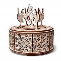 Деревянный конструктор Wood Trick Танцующие балерины, 48 деталей.Техника сборки - 3d пазл, фото 4