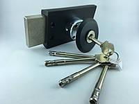 """Замок накладной """"Барьер-4Р"""", окрашенный корпус, длина стержня ключа 96 мм"""
